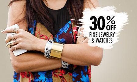 30% Off Fine Jewelry