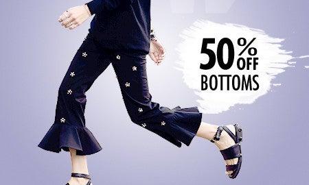 50% Off Bottoms