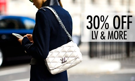 30% Off Louis Vuitton, Prada & More