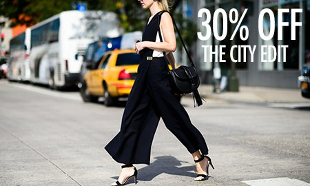 30% Off The City Edit