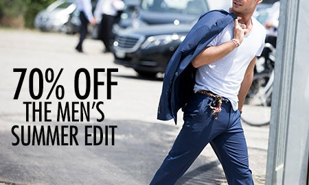 70% Off The Men's Summer Edit