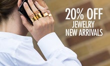 20% Off Jewelry New Arrivals