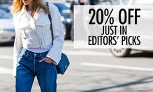 20% Off Just In: Editors' Picks