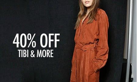 40% Off Tibi, Étoile Isabel Marant & More