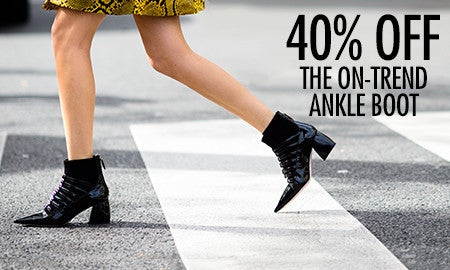 40% Off The On-Trend Ankle Boot