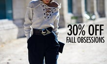 30% Off Fall Obsessions