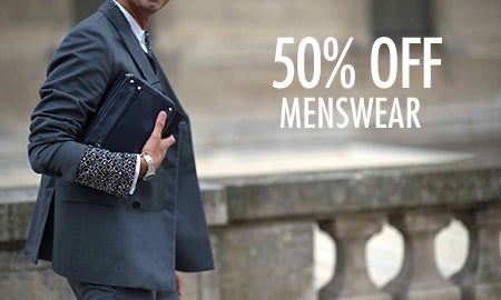 50% Off Menswear