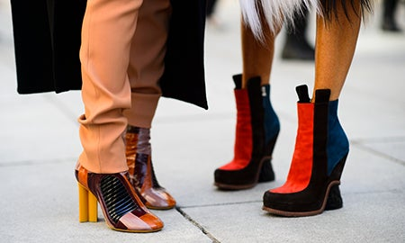 Fall's Top Shoe Trends