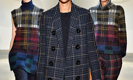 Why Plaid Is Anything But Boring For Fall