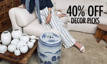 40% Off Decor Picks from Tiffany & Co, Baccarat & More