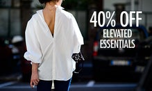40% Off Elevated Essentials