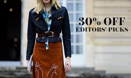 30% Off Editors' Picks