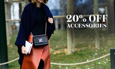 20% Off Accessories We Love For Fall