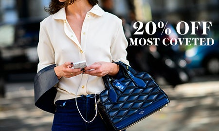 20% Off Most Coveted