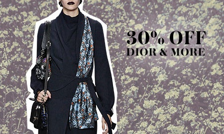 30% Off Alaïa, Dior & More