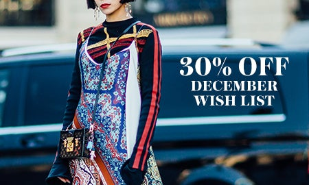 30% Off The December Wish List