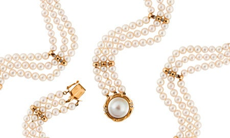 Pearls For Mom !